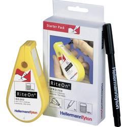 Etikete za označevanje kablov RiteOn 12.70 x 19.05 mm HellermannTyton 550-14010 SPRO200-1401-WH