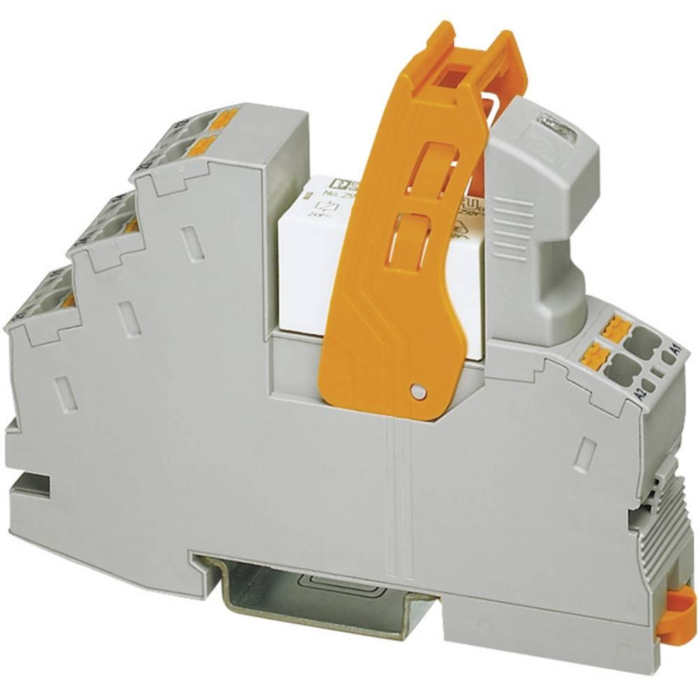 Relækomponent 1 stk Phoenix Contact RIF-1-RPT-LV-24AC/1X21 Nominel spænding: 24 V/AC Brydestrøm (max.): 11 A 1 x skiftekontakt