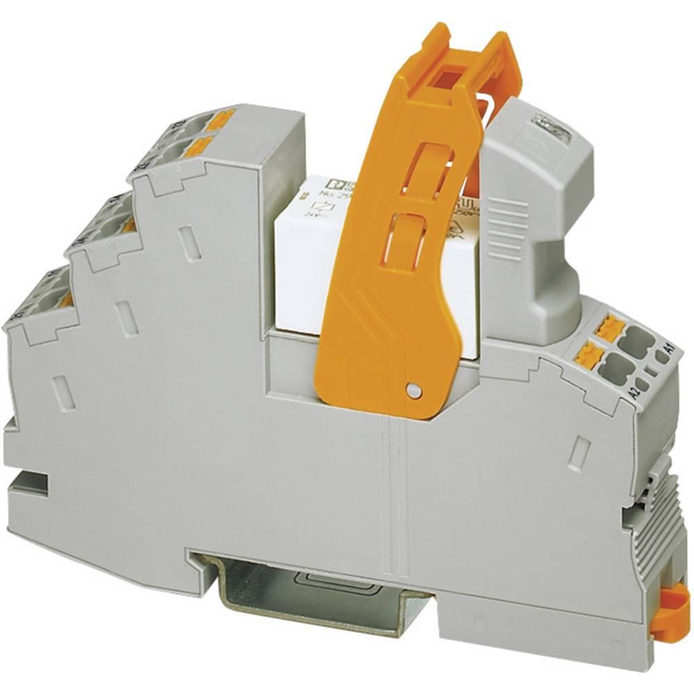 Relækomponent 1 stk Phoenix Contact RIF-1-RPT-LDP-24DC/1X21AU Nominel spænding: 24 V/DC Brydestrøm (max.): 50 mA 1 x skiftekonta