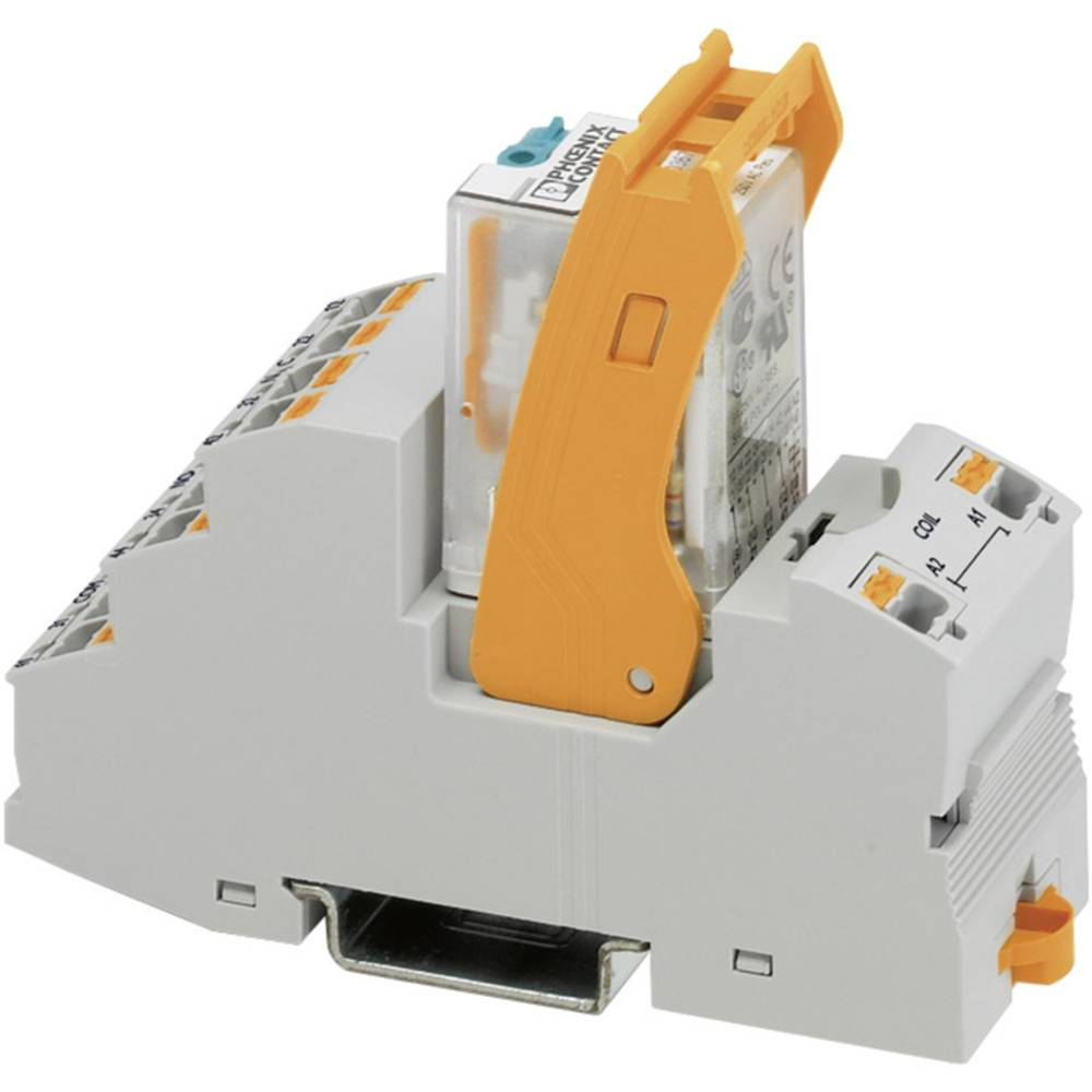 Relaisbaustein (value.1292895) 1 stk Phoenix Contact RIF-2-RPT-LV-230AC/4X21 Nominel spænding: 230 V/AC Brydestrøm (max.): 5 A 4