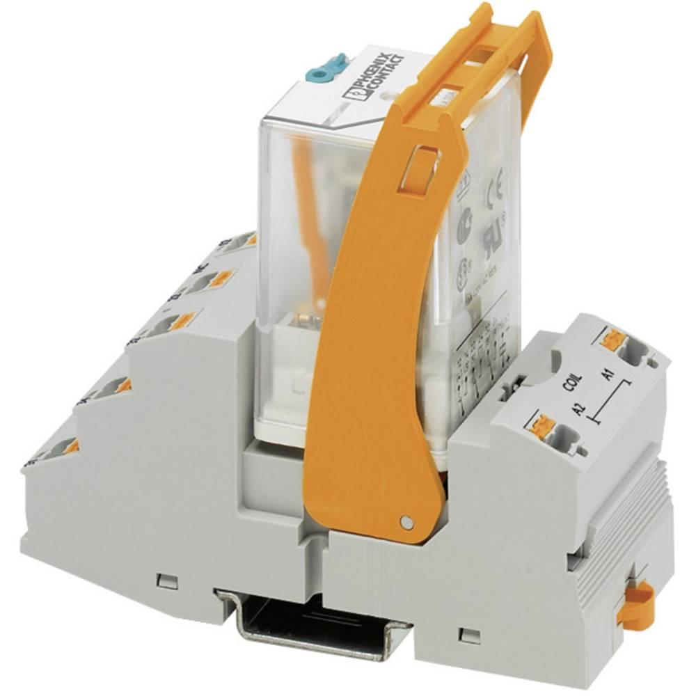 Relaisbaustein (value.1292895) 1 stk Phoenix Contact RIF-3-RPT-LDP-24DC/3X21 Nominel spænding: 24 V/DC Brydestrøm (max.): 8.5 A