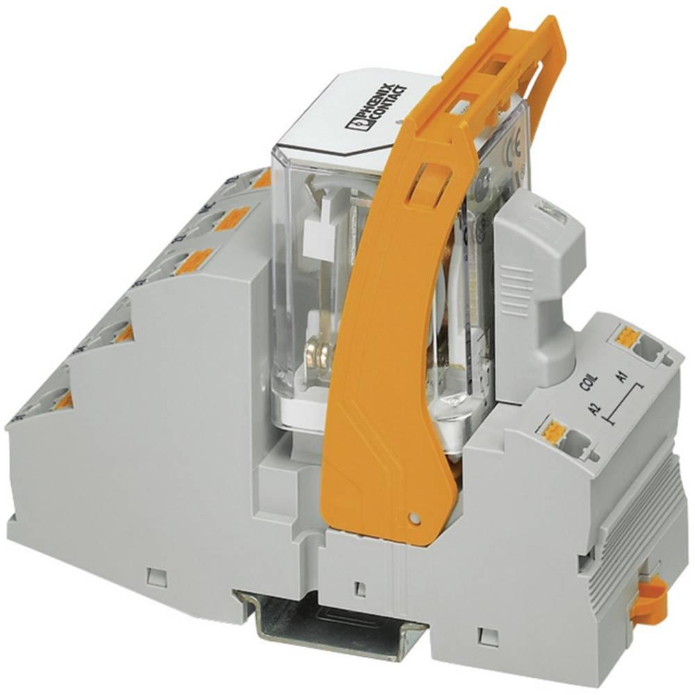 Relækomponent 1 stk Phoenix Contact RIF-4-RPT-LV-120AC/2X21 Nominel spænding: 120 V/AC Brydestrøm (max.): 9 A 2 x omskifter