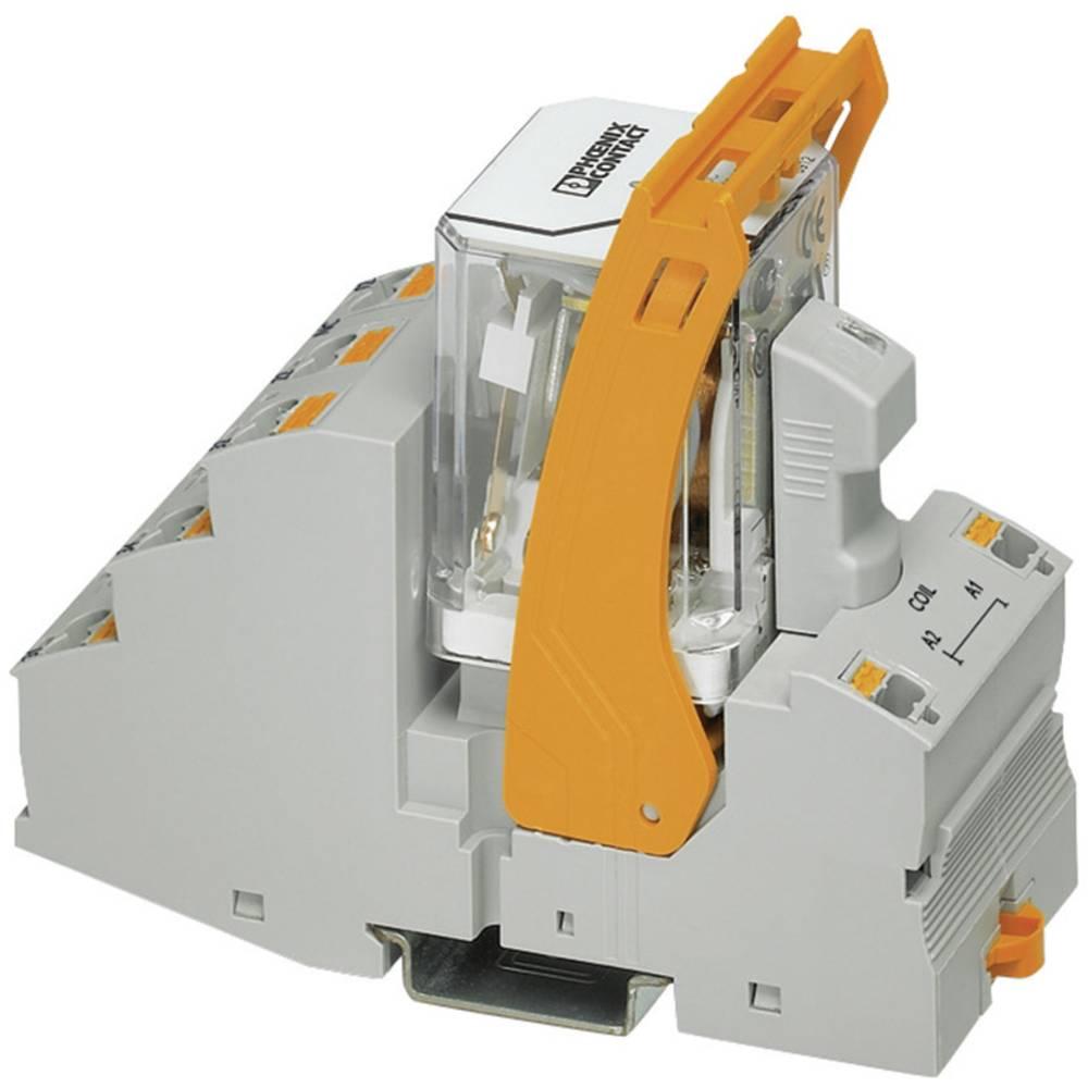 Relækomponent 1 stk Phoenix Contact RIF-4-RPT-LDP-24DC/3X1 Nominel spænding: 24 V/DC Brydestrøm (max.): 10 A 3 x afbryder