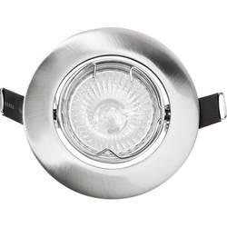 Montažni prsten, halogeni GU10 35 W Basetech CT-3107 GU10, brušeni krom