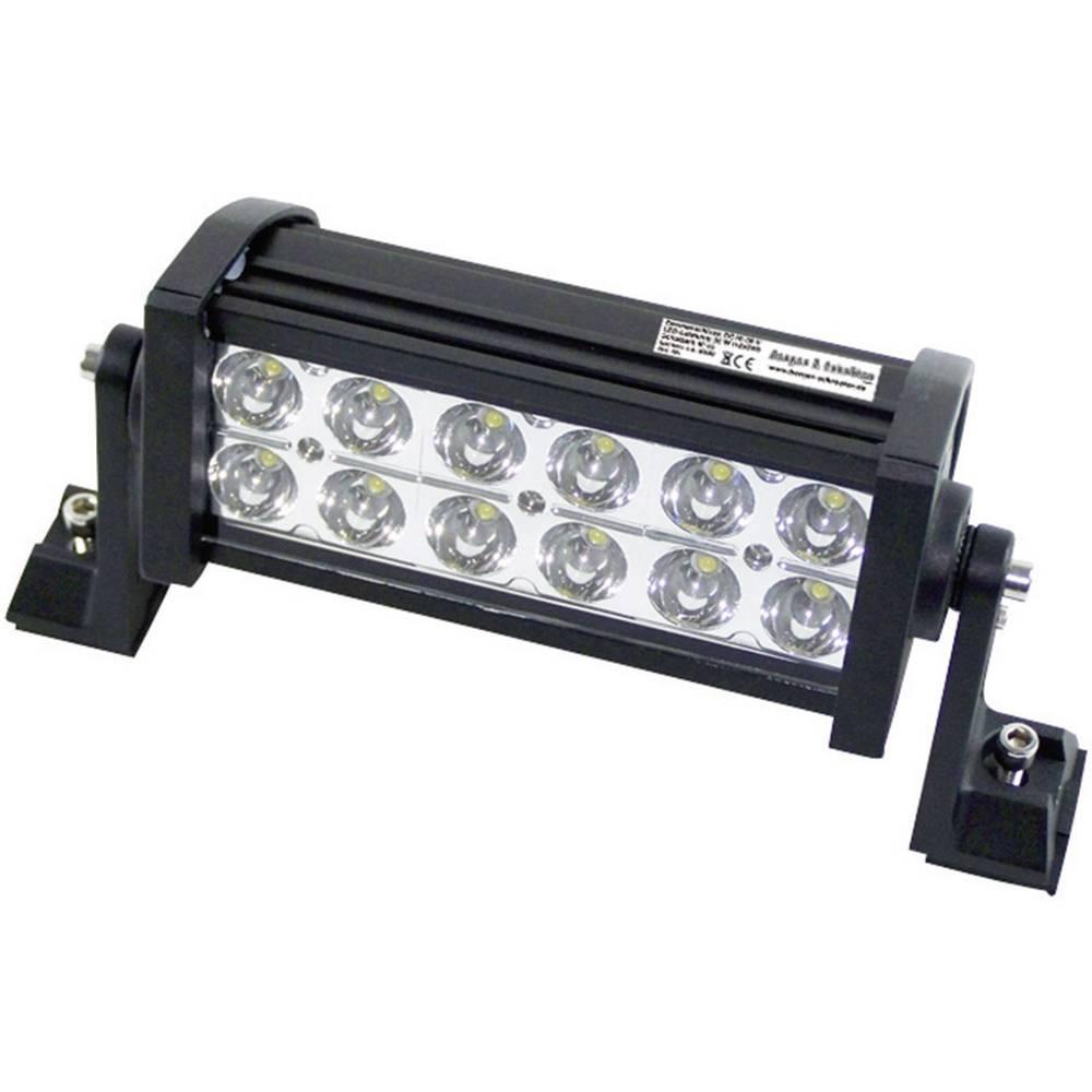 Delovni LED žaromet 36 W 12 V, 24 V (Š x V x G) 252 x 115 x 85 mm 2300 lm