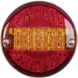 Zadnja LED luč za priklopnike, smernik, zavorna luč, luč za vzvratno vožnjo, prozorna 12 V, 24 V