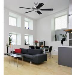Stropni ventilator Westinghouse krom Cyclone (premer) 132 cm barva lopatic: črno-srebrna, barva ohišja: krom