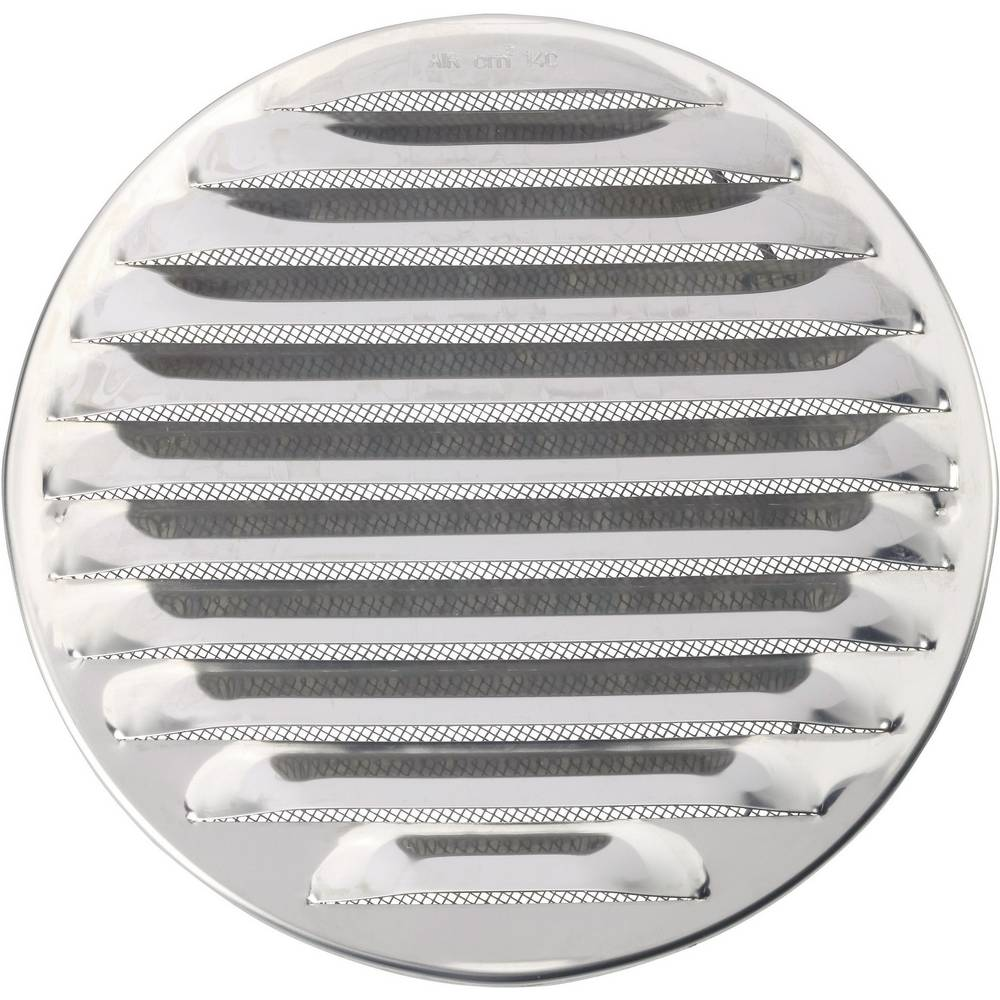 Rešetka za ventilaciju plemeniti čelik za cijevi promjera: 16 cm