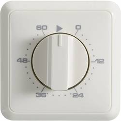 Podžbukni mjerač vremena, analogni, dnevni program 60 min. Wallair 20100261 3680 W IP20 2-polni