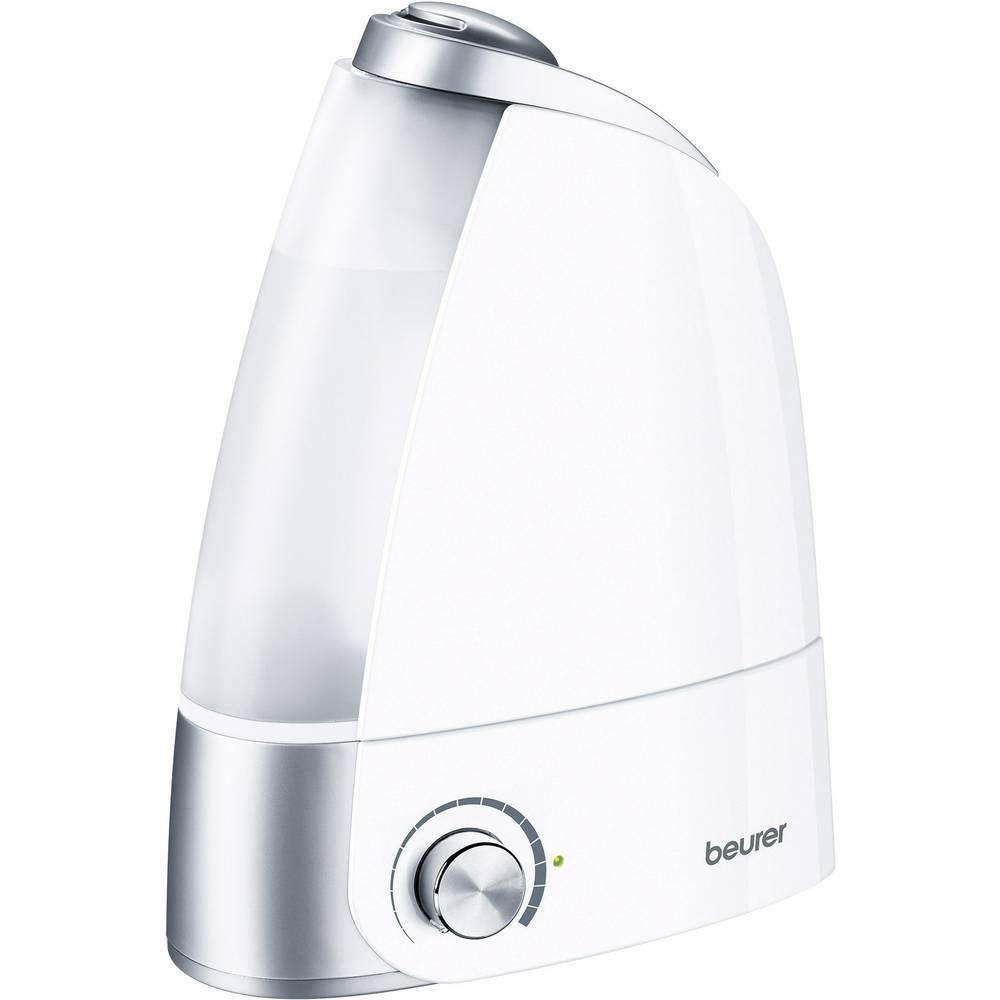 Ultrazvučni ovlaživač zraka EEK grijanje/hlađenje: / 25 m2 20 W bijeli-srebrni Beurer LB 44