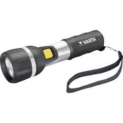 LED džepna svjetiljka Varta Day Light 2 AA na baterije 139 g crna/srebrna