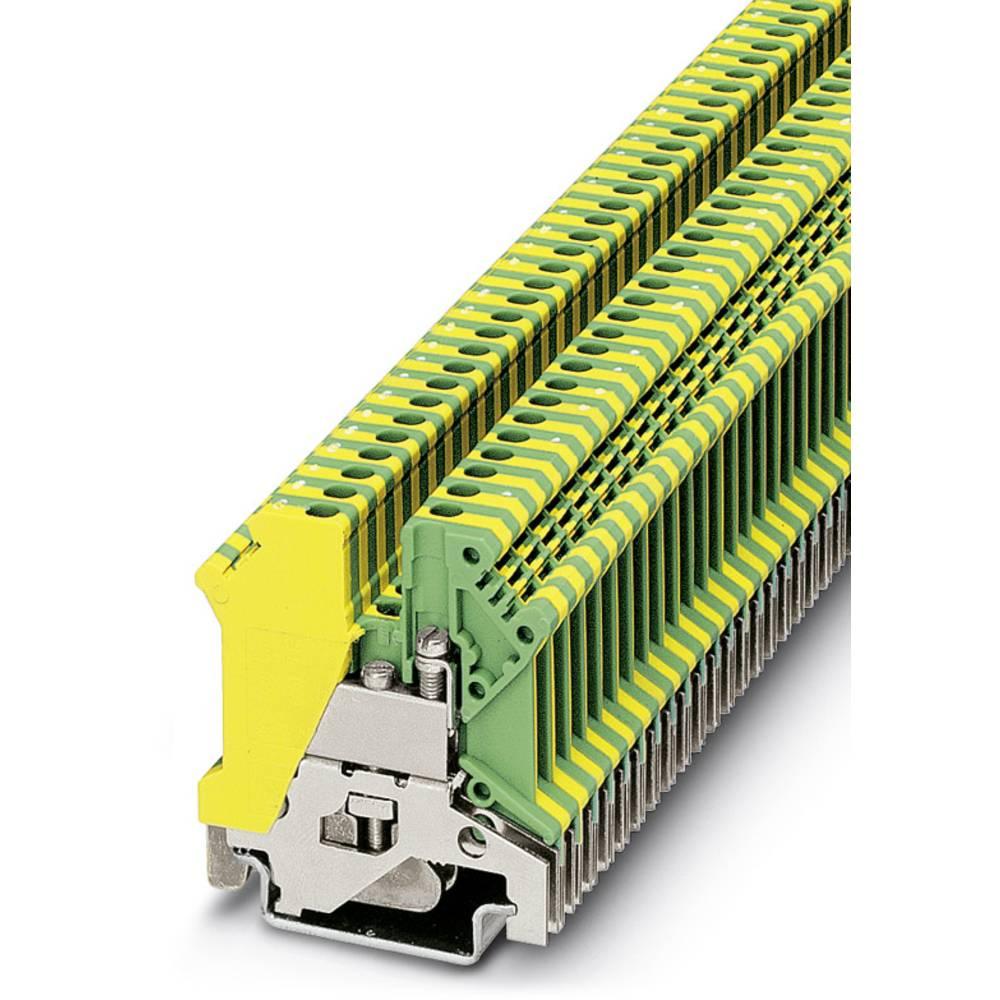 Beskyttende leder terminal USLKG 3 Phoenix Contact USLKG 3 Grøn-gul 50 stk