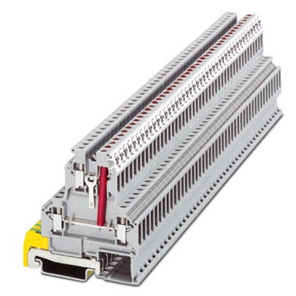 Dobbelt-deck terminal SLKK 5-LA230 Phoenix Contact SLKK 5-LA230 Grå 50 stk