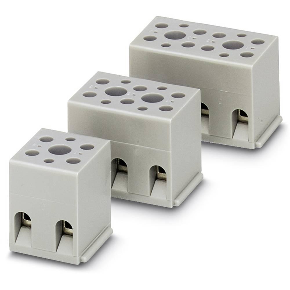 Grundkabinet Phoenix Contact G 5/ 3-EX 4.00 mm² Poltal 3 Grå 50 stk