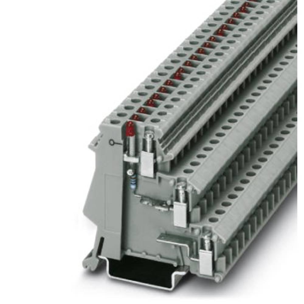 Sensor/actuator terminal block DIK 1,5-LA 24RD/O-M Phoenix Contact DIK 1,5-LA 24RD/O-M Grå 50 stk