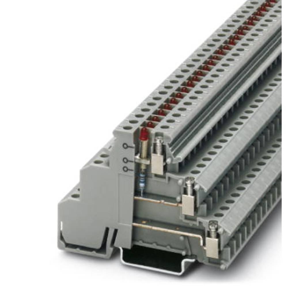 Sensor/actuator terminal block DIKD 1,5-LA 24GN/O-M Phoenix Contact DIKD 1,5-LA 24GN/O-M Grå 50 stk