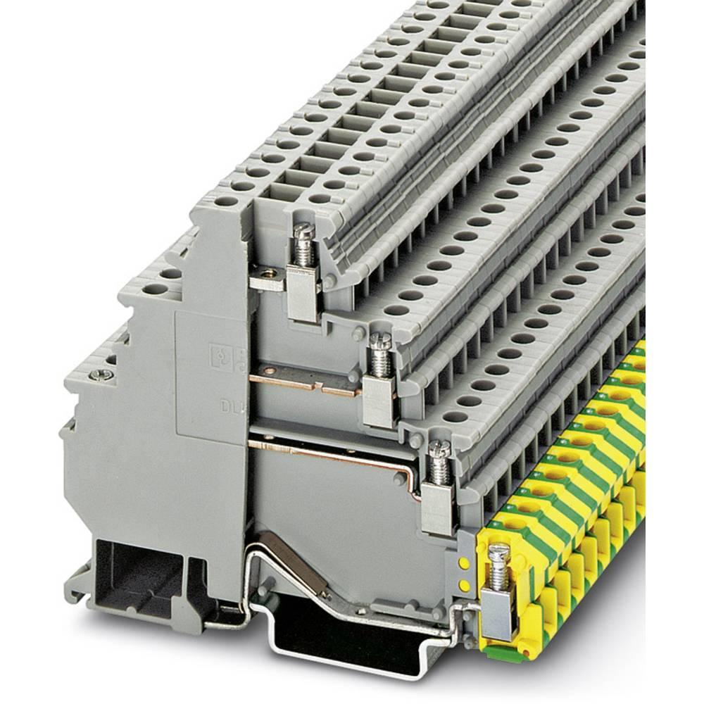 Gennem terminal DLK 2,5-PE Phoenix Contact DLK 2,5-PE Grå 50 stk