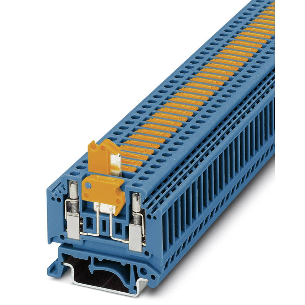 Ark / modulopbyggede afbryde terminal MTK-P / P BU Phoenix Contact MTK-P/P BU Blå 50 stk