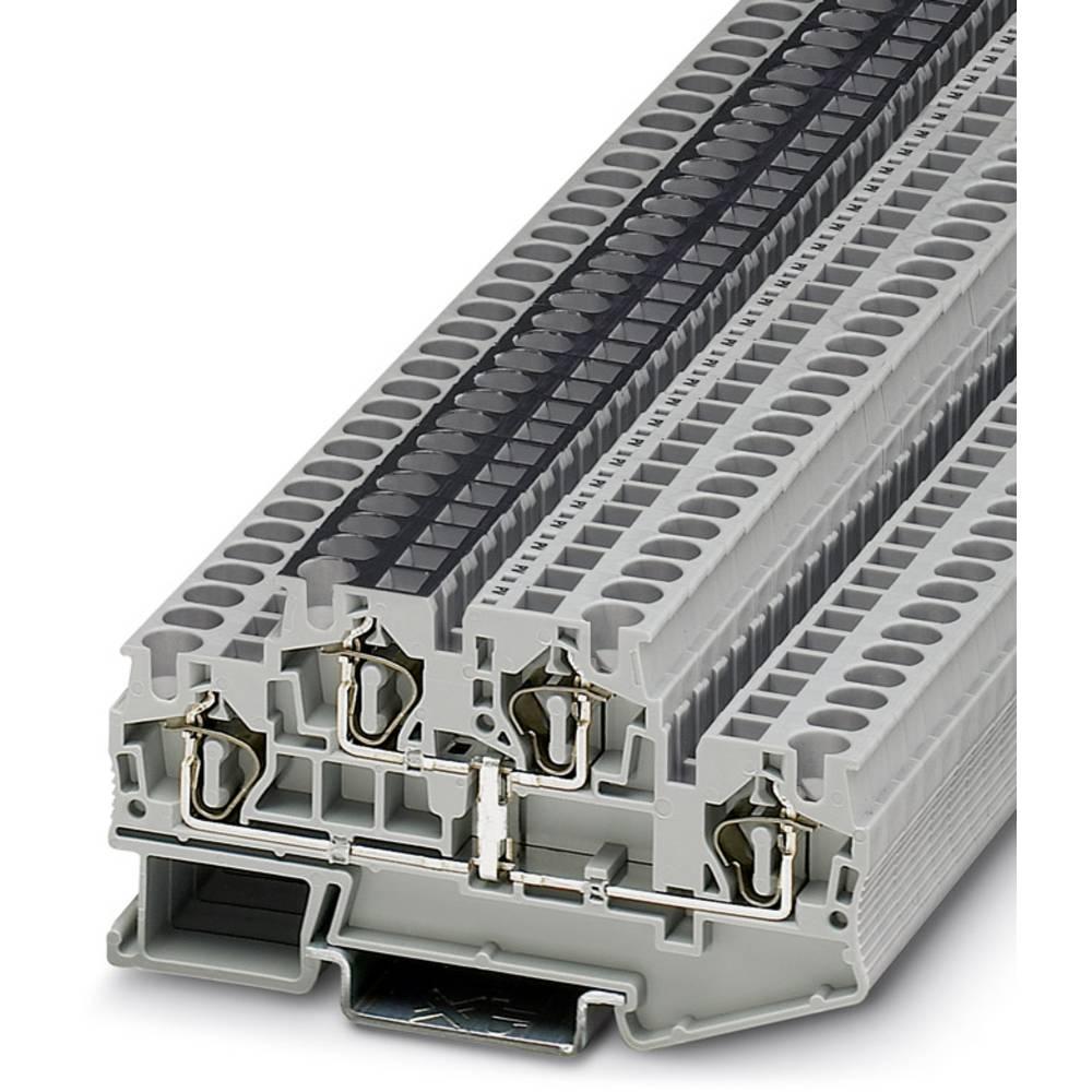 Dobbelt-trækfjeder STTB 4-PV Phoenix Contact STTB 4-PV Grå 50 stk