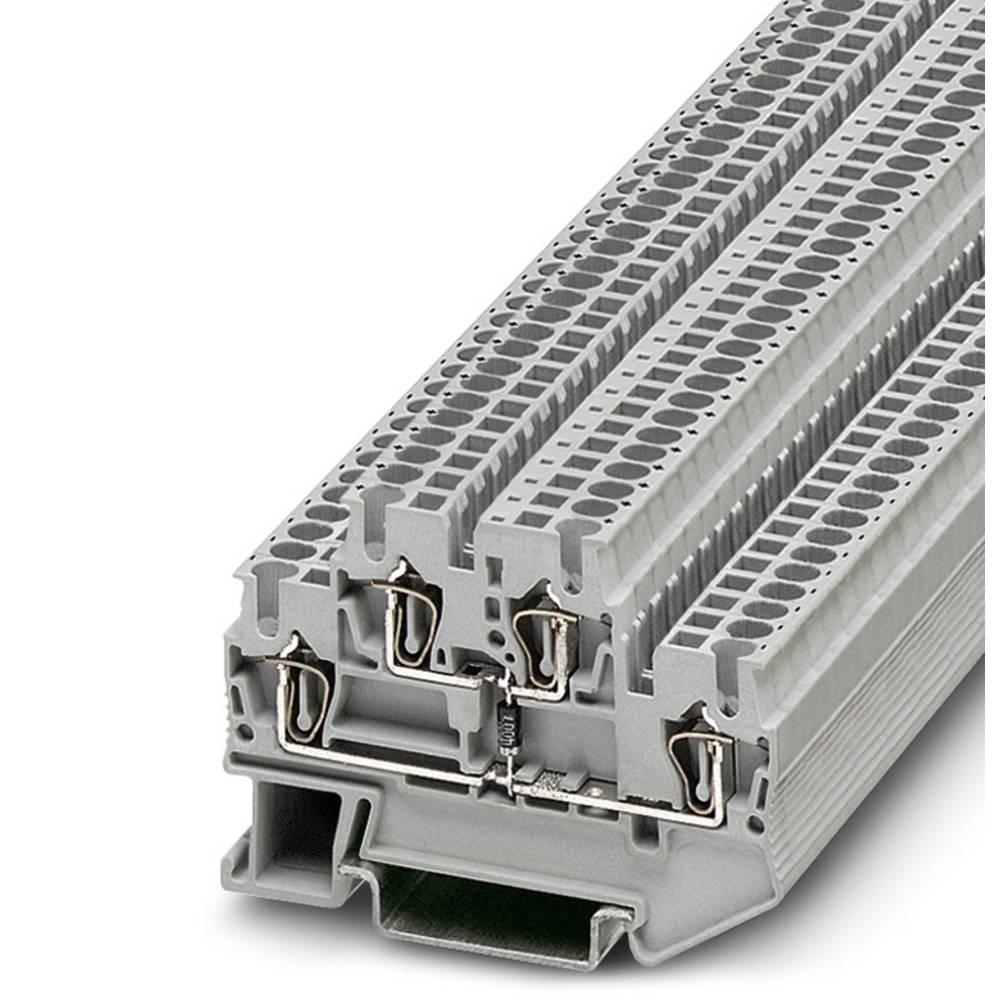 Komponentterminalen STTB 2,5-DIO / U-O Phoenix Contact STTB 2,5-DIO/U-O Grå 50 stk