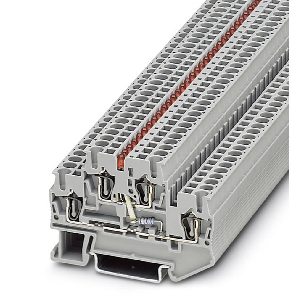 Komponent terminal STTB 2,5-LA 60 RD Phoenix Contact STTB 2,5-LA 60 RD Grå 50 stk