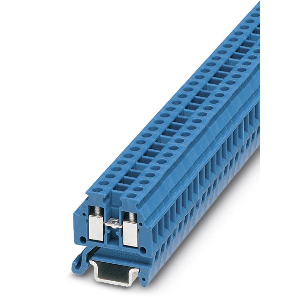 Gennem terminal ATEX-MT 1,5 BU Phoenix Contact ATEX-MT 1,5 BU Blå 50 stk