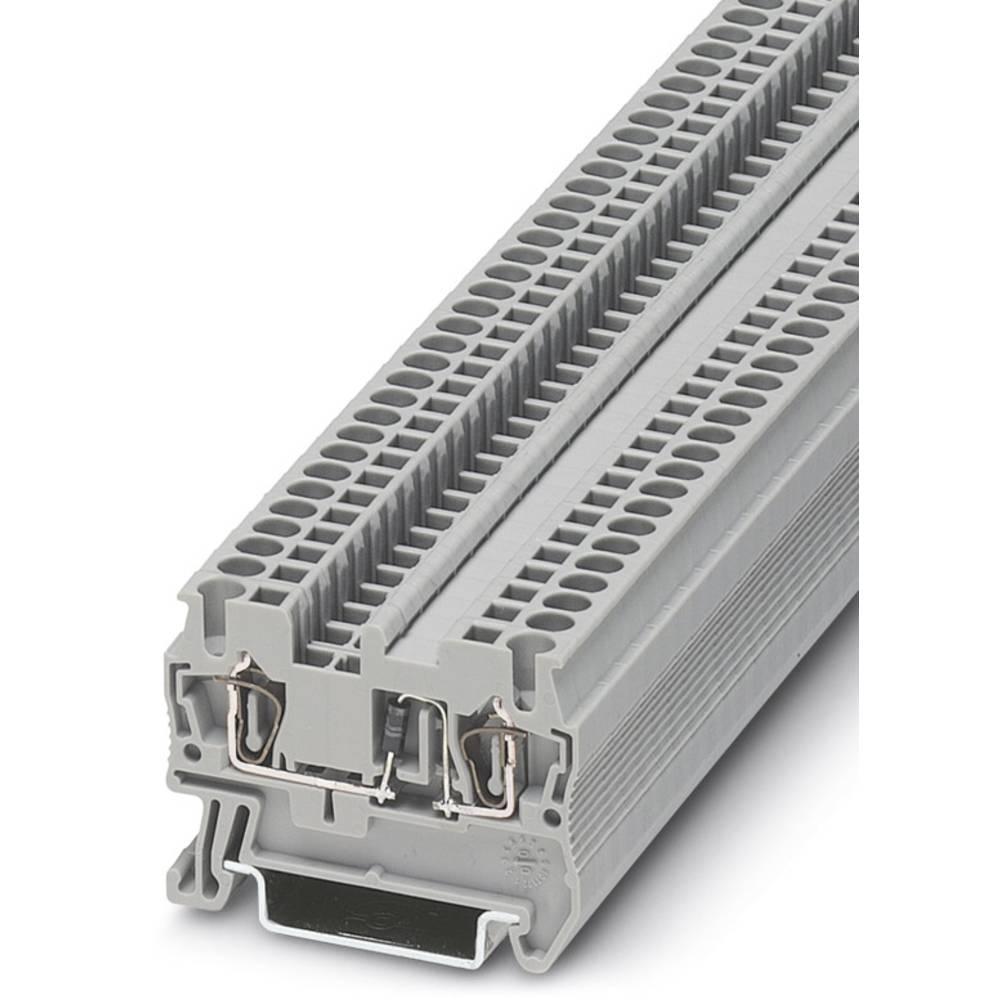 Komponent terminal ST 2,5-DIO / LR Phoenix Contact ST 2,5-DIO/L-R Grå 50 stk
