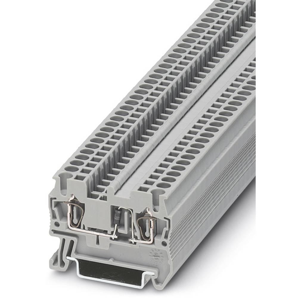 Komponent terminal ST 2,5-DIO / RL Phoenix Contact ST 2,5-DIO/R-L Grå 50 stk