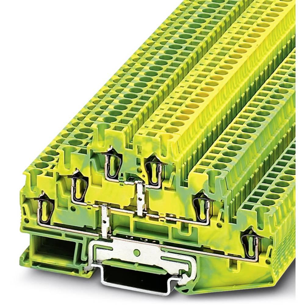 Multi-level terminal ST 2,5-3PE Phoenix Contact ST 2,5-3PE Grøn-gul 50 stk