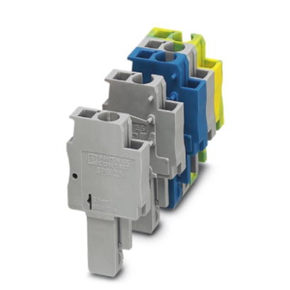 Plug SPB 2,5 / 1-L BU Phoenix Contact SPB 2,5/ 1-L BU Blå 50 stk