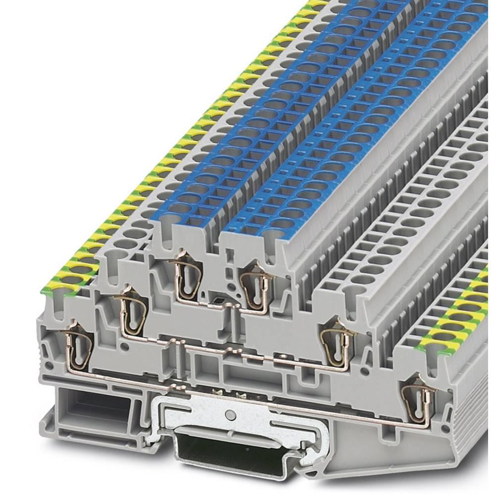 Feed-through terminal block ST 2,5-L/L/N Phoenix Contact ST 2,5-L/L/N Grå 50 stk
