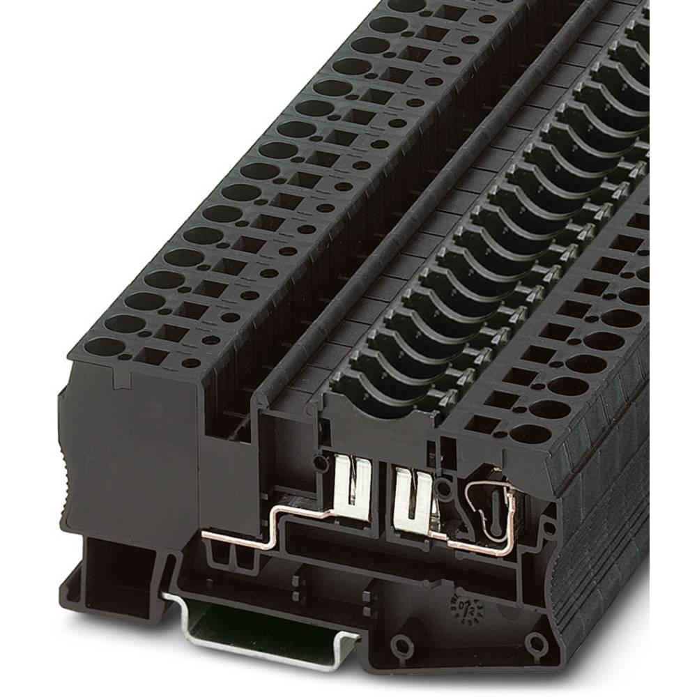 Spænding tester ST 4-FSI / C RD Phoenix Contact ST 4-FSI/C RD Rød 50 stk