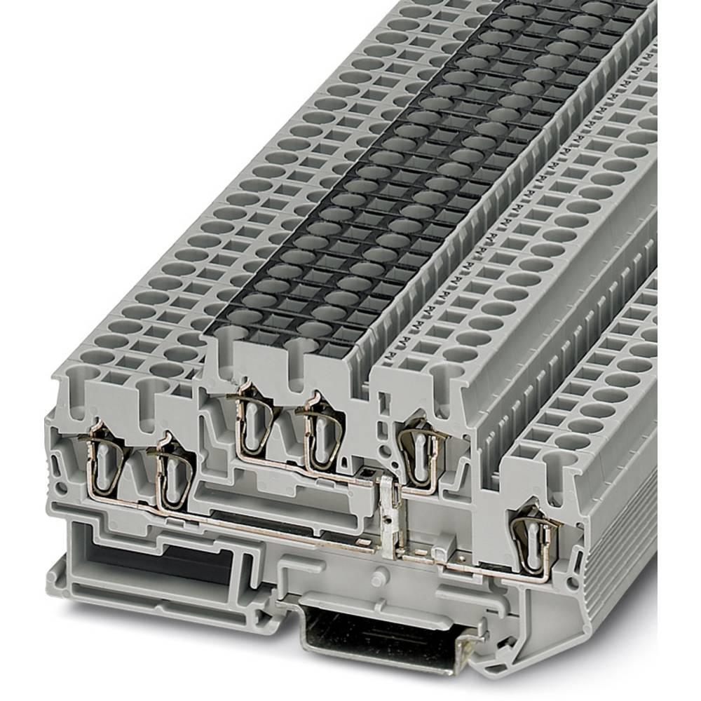 Feed-through terminal block STTB 2,5-TWIN-PV Phoenix Contact STTB 2,5-TWIN-PV Grå 50 stk