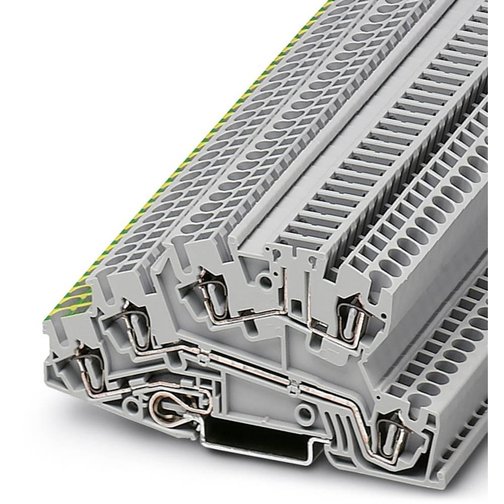 Installation tier terminal STI 2,5 PE / L / TG Phoenix Contact STI 2,5-PE/L/TG Grå 50 stk