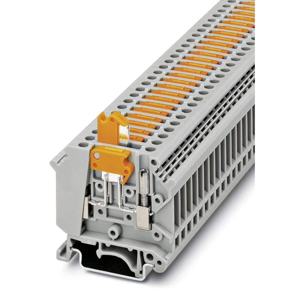 Ark / modulopbyggede afbryde terminal UK 5-MTK-P / P RD Phoenix Contact UK 5-MTK-P/P RD Rød 50 stk