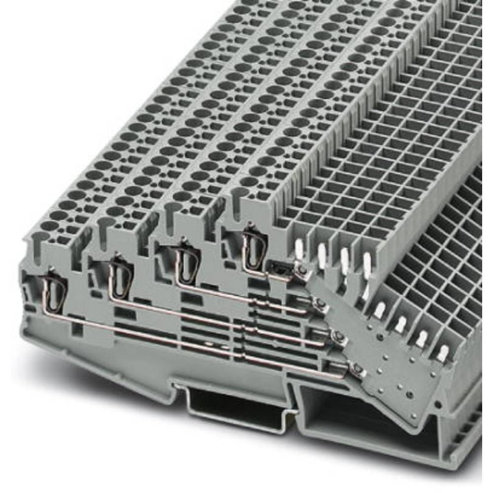 Multi-level terminal ST 2,5-4L / 2P-Z Phoenix Contact ST 2,5-4L/2P-Z Grå 50 stk