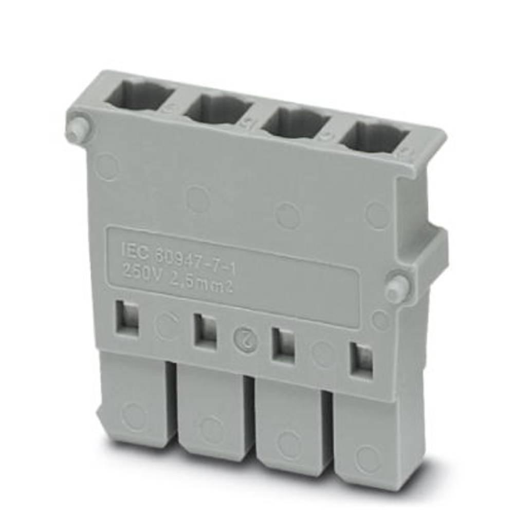 Plug CP 2,5-4L-Z Phoenix Contact CP 2,5-4L-Z Grå 50 stk