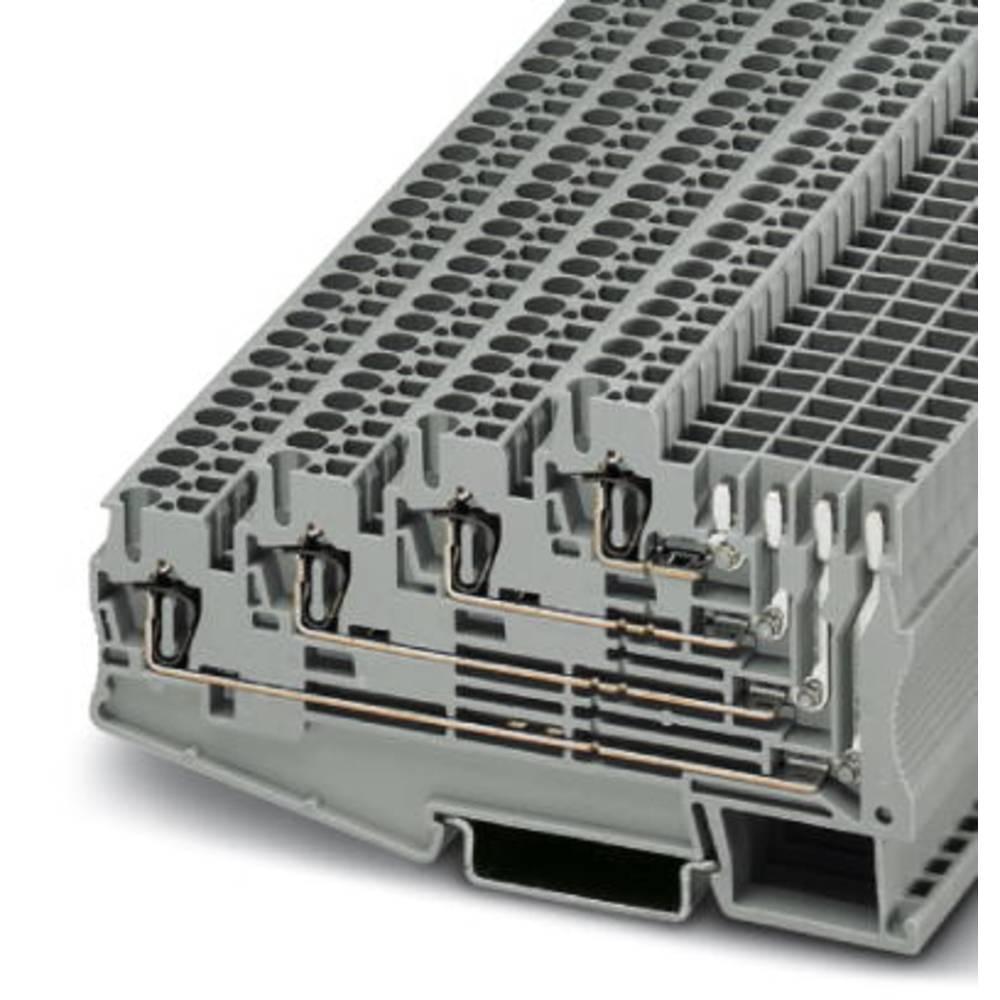 Multi-level terminal ST 2,5-4L / 1P Phoenix Contact ST 2,5-4L/1P Grå 50 stk