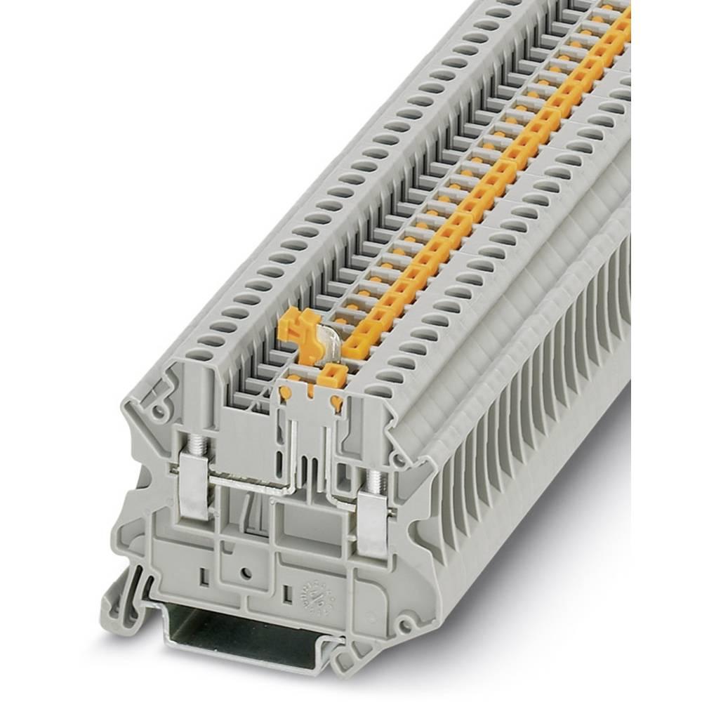 Universal terminal UT 2,5-MT-P / P Phoenix Contact UT 2,5-MT-P/P Grå 50 stk