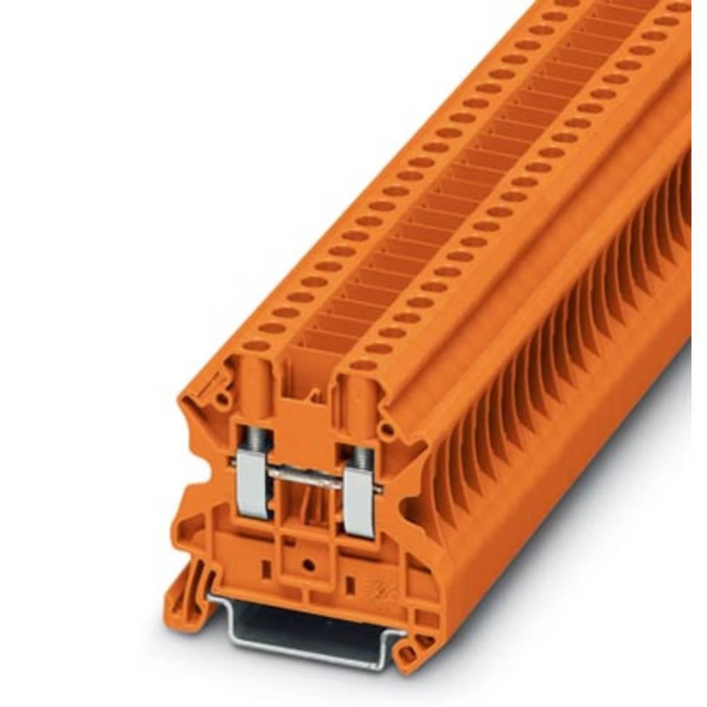 Gennem klemme UT 4-CB OG Phoenix Contact UT 4-CB OG Orange 50 stk