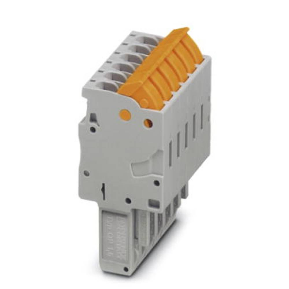 Plug QP 1,5 / 1 GNYE Phoenix Contact QP 1,5/ 1 GNYE Grøn-gul 50 stk