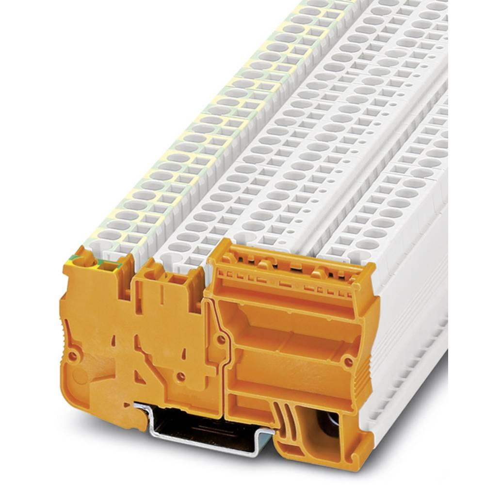 Power terminal STIO IN 2,5 / 3-PE OG Phoenix Contact STIO-IN 2,5/3-PE OG Orange 25 stk