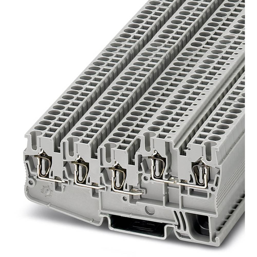 Initiator / aktuator terminal STIO 2.5 / 4-3b / L Phoenix Contact STIO 2,5/4-3B/L Grå 50 stk