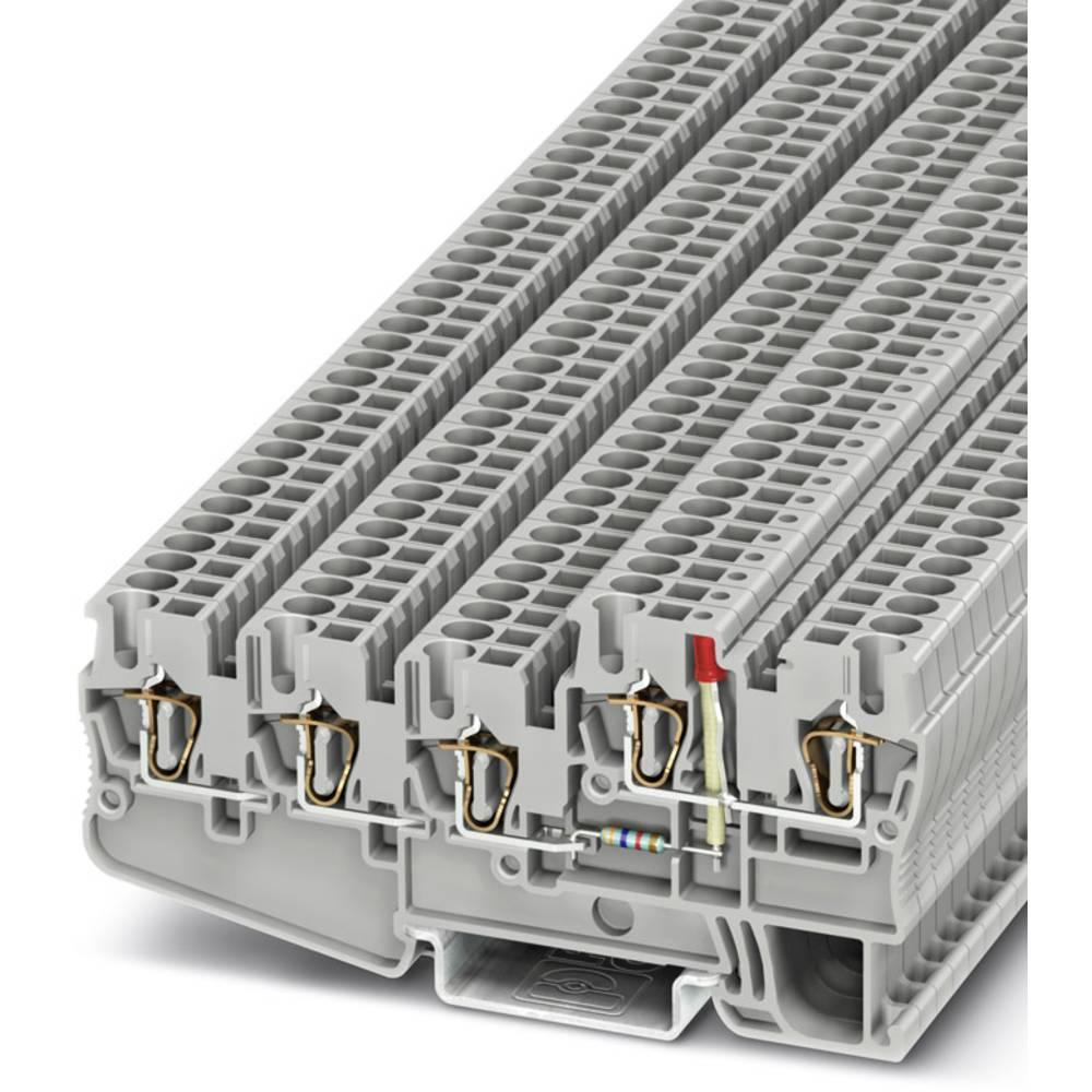 Initiator / aktuator terminal STIO 2.5 / 4-3b / L-LA24RD / O-M Phoenix Contact STIO 2,5/4-3B/L-LA24RD/O-M Grå 50 stk