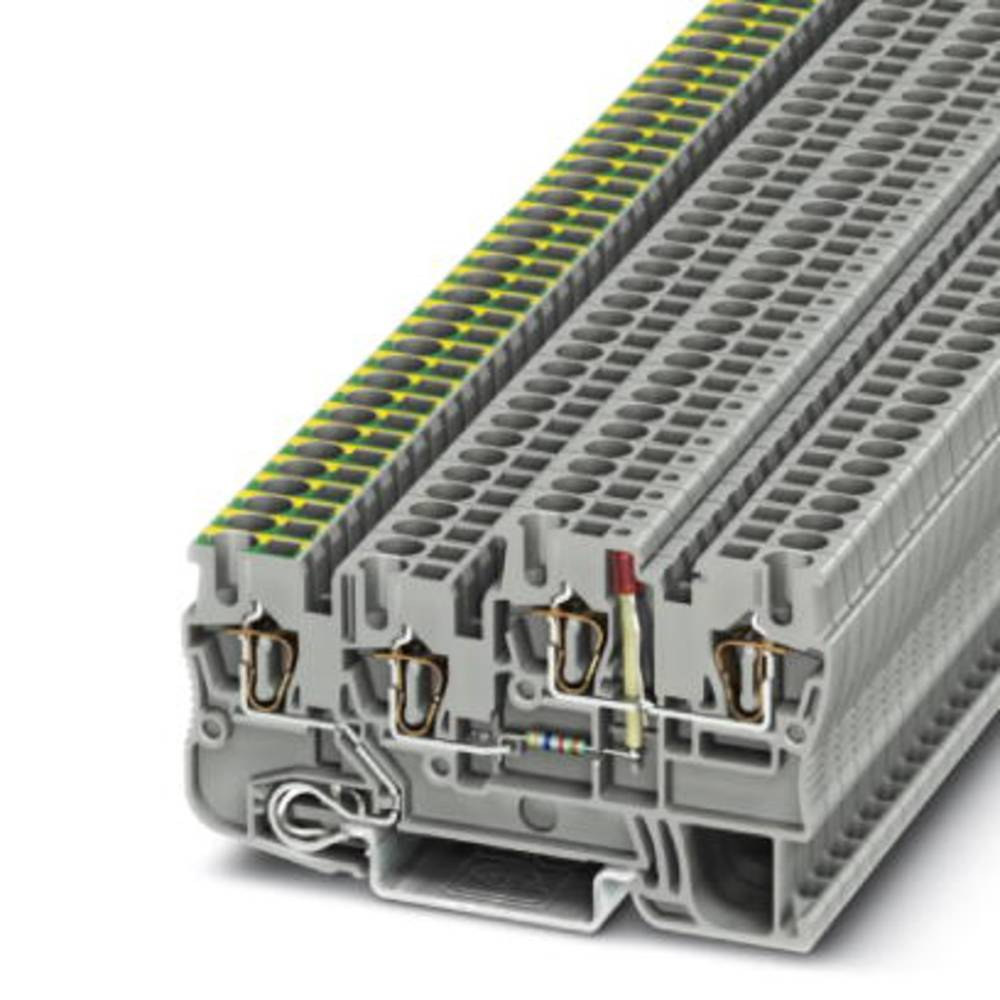 Sensor/actuator terminal block STIO 2,5/3-PE/B/L-LA24RD/O-M Phoenix Contact STIO 2,5/3-PE/B/L-LA24RD/O-M Grå 50 stk