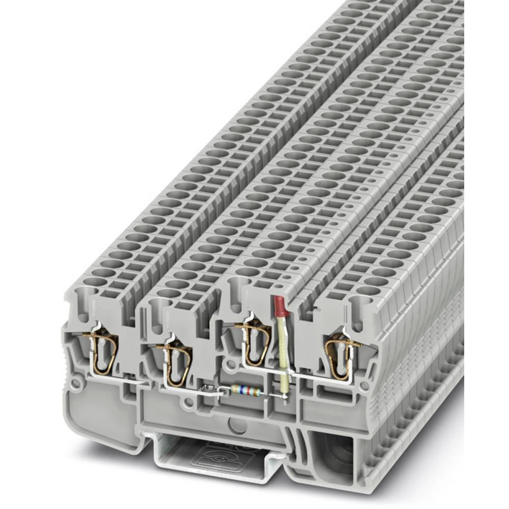 Sensor/actuator terminal block STIO 2,5/3-2B/L-LA24GN/O-M Phoenix Contact STIO 2,5/3-2B/L-LA24GN/O-M Grå 50 stk