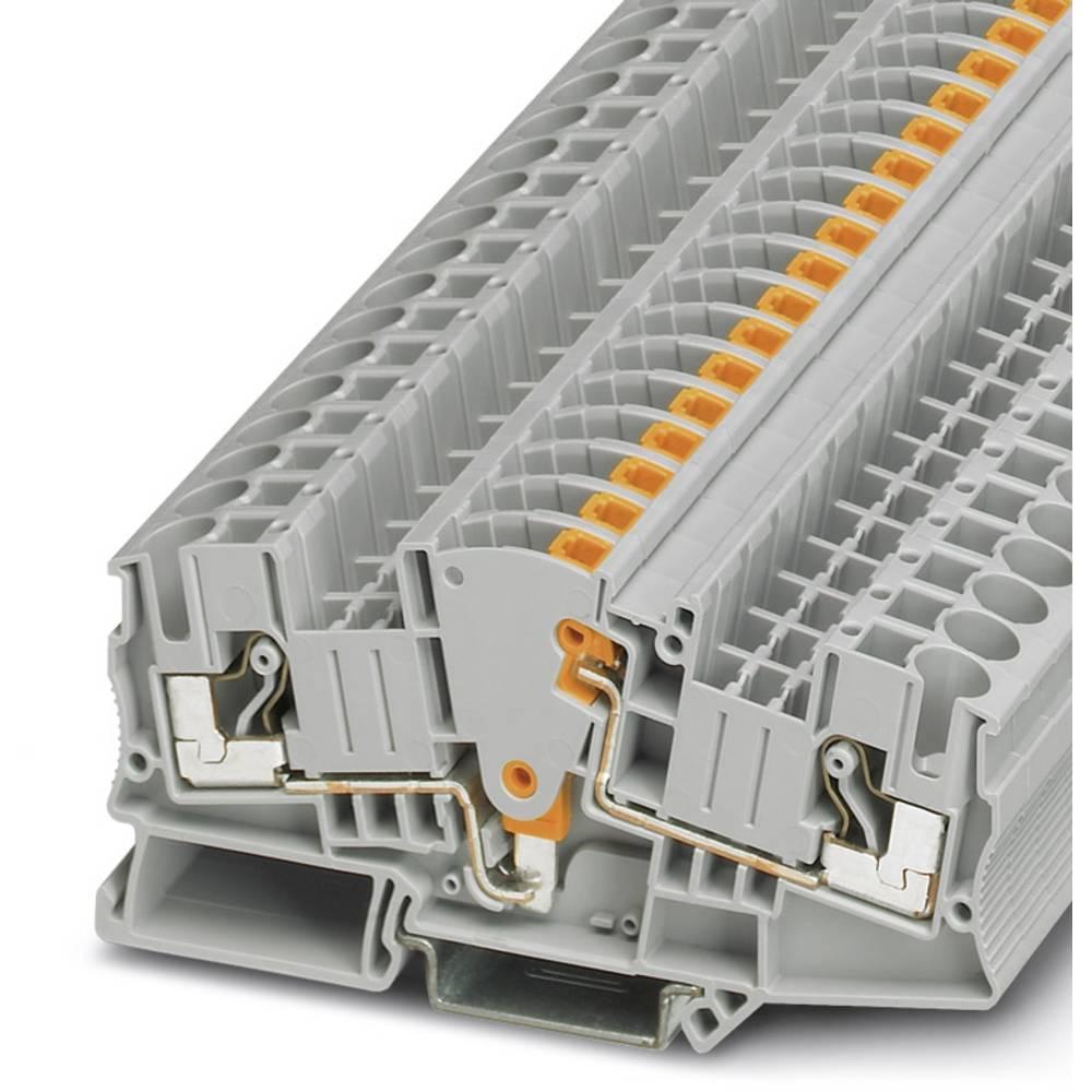 Test disconnect terminal block DTME 6 Phoenix Contact DTME 6 Grå 50 stk