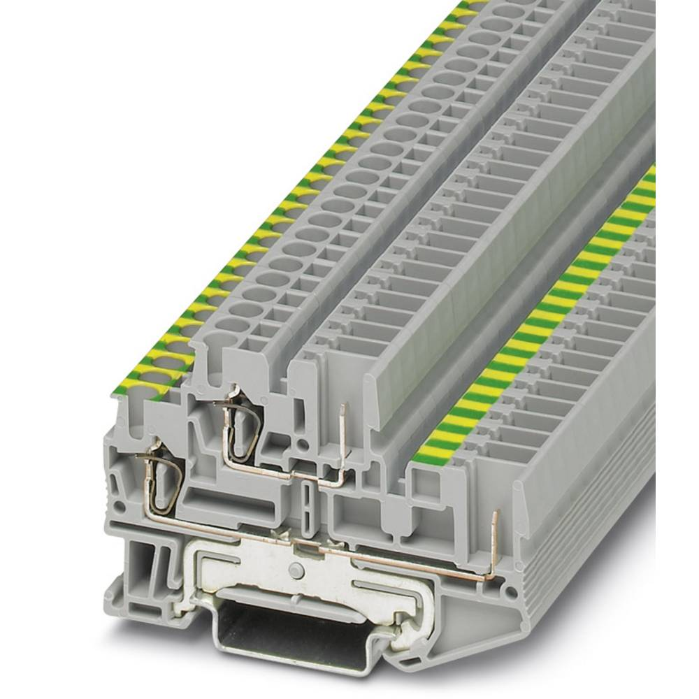 Feed-through terminal block STTB 2,5/2P-PE/L Phoenix Contact STTB 2,5/2P-PE/L Grå 50 stk
