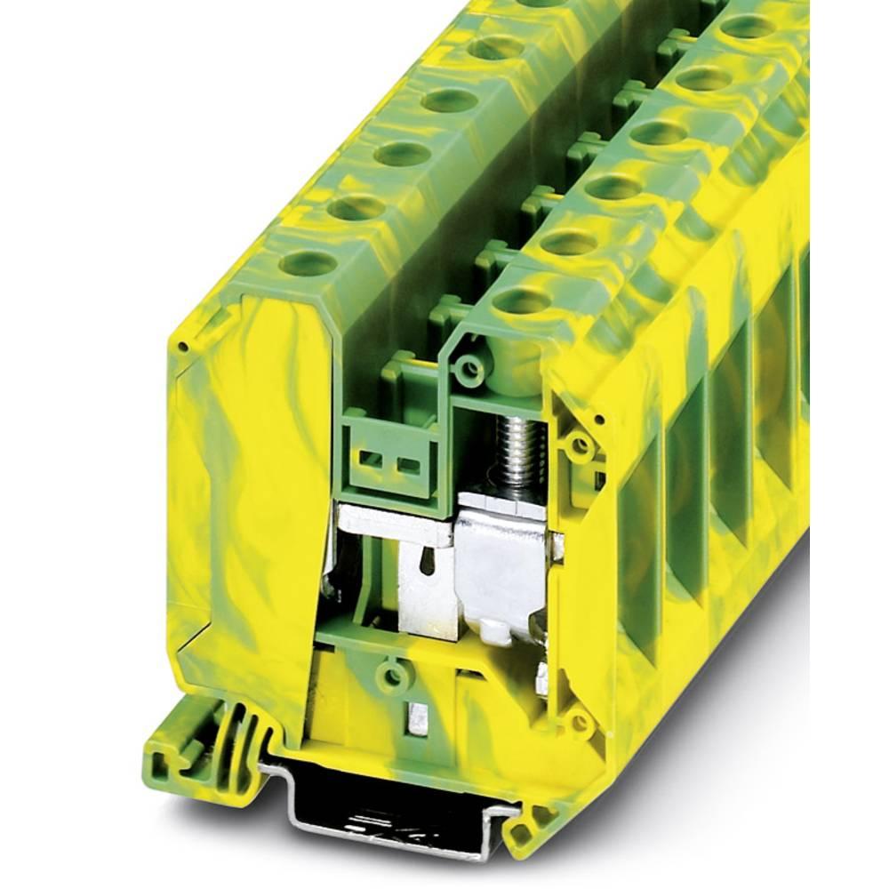 Gennem klemrække UT 35-PE IB Phoenix Contact UT 35-PE IB Grøn-gul 50 stk