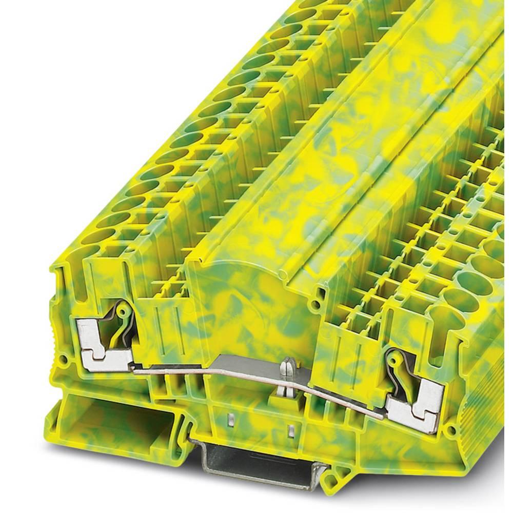 Beskyttende dirigent terminal DTMED 6-PE Phoenix Contact DTMED 6-PE Grøn-gul 50 stk